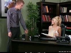Office assistant getting fucked hard 9