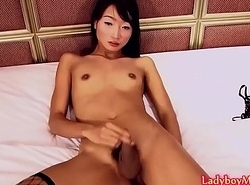 Ladyboy Pong Strips and Strokes Cock