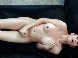 Wildly Sexy Shemale Doll at Play in Bed