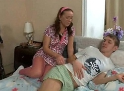 Russian Brother Fucks Horny Sister