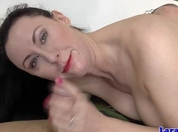 British mature assfucked in her sexy uniform