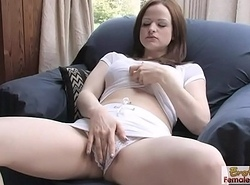 Hard Fuck Session With Janessa And Her Dildo