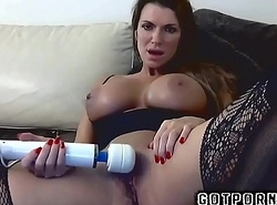 Cute Busty Amateur MILF Masturbates Her Tight Wet Cunt