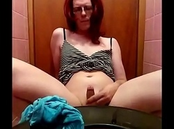 Boy Tiffany Pees n Cum eat